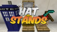 hat stand mod for minecraft logo