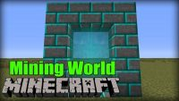 Aroma1997s Dimensional World mod for Minecraft logo