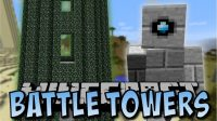 Battle Towers mod for Minecraft logo