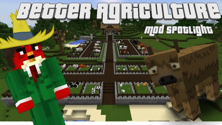Better Agriculture mod for minecraft logo