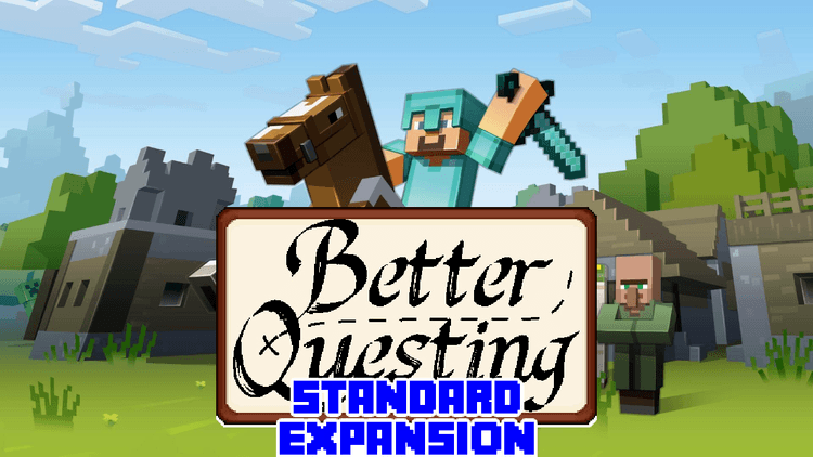 Better Questing – Standard Expansion Mod for Minecraft logo