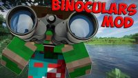Binocular Mod for Minecraft Logo