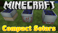 Compact Solars mod for minecraft logo