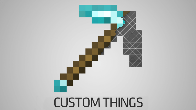 CustomThings mod for Minecraft logo