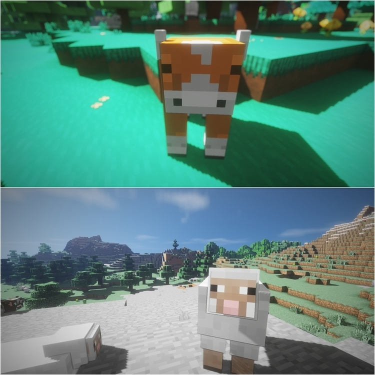 Cybox Shaders Mod for Minecraft 1