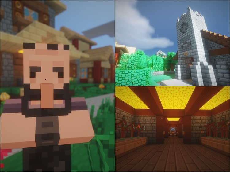 Cybox Shaders Mod for Minecraft 3