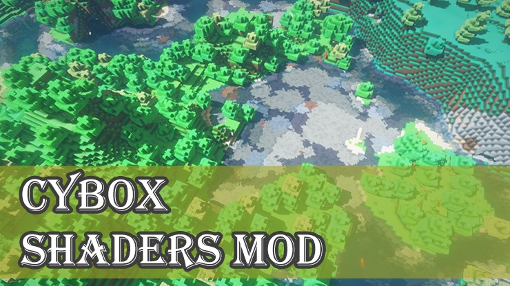 Cybox Shaders Mod for Minecraft Logo