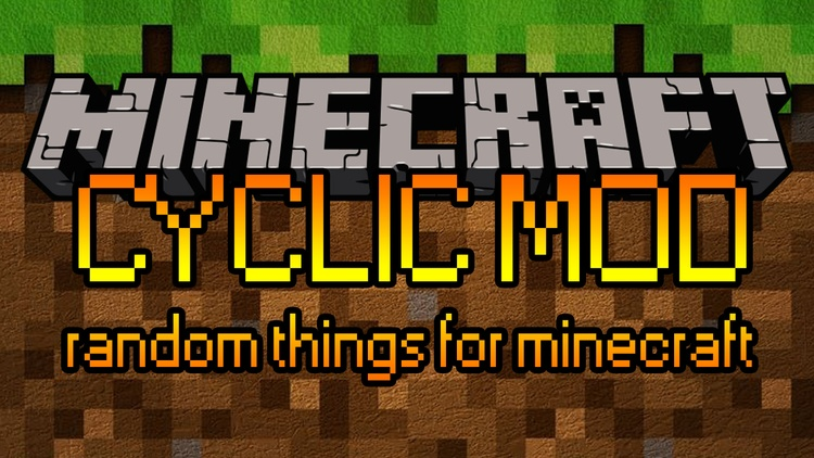 Cyclic Mod for Minecraft Logo