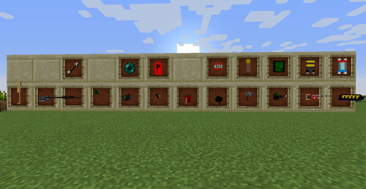 Extraordinary Weapons mod for minecraft 01