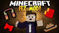 Fez Mod - Adds new Doctor Who items to Minecraft Logo