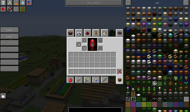 Forever Enough Items mod for minecraft 01