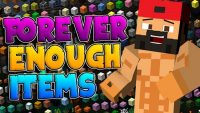 Forever Enough Items mod for minecraft logo