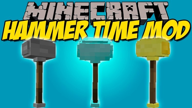 Hammer Time! Mod for minecraft logo