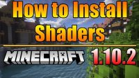 How to install Shaders Mod for Minecraft Logo