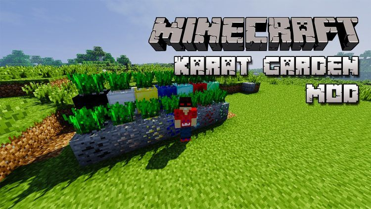 Karat Garden mod for minecraft logo