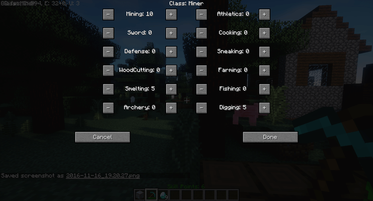 Level Up Mod for Minecraft 5