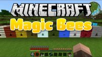 Magic Bees mod for Minecraft logo