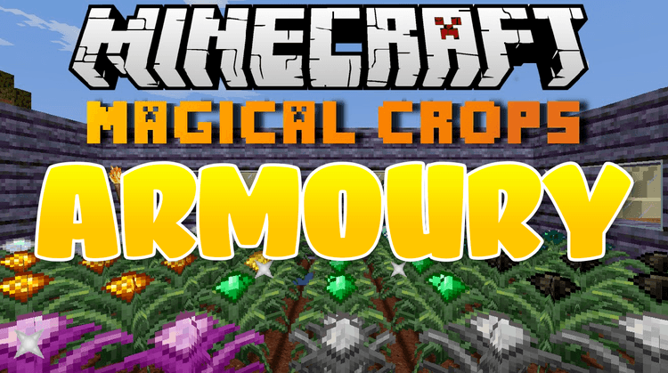Magical Crops: Armoury mod for Minecraft logo