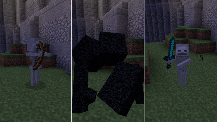 Morphing mod for Minecraft 01