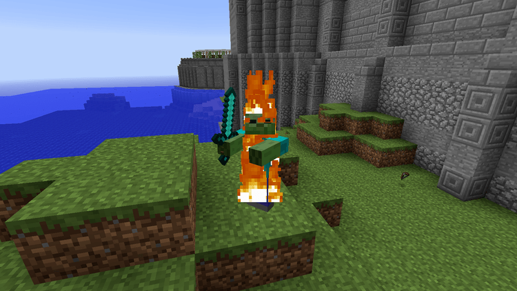 Morphing mod for Minecraft 02