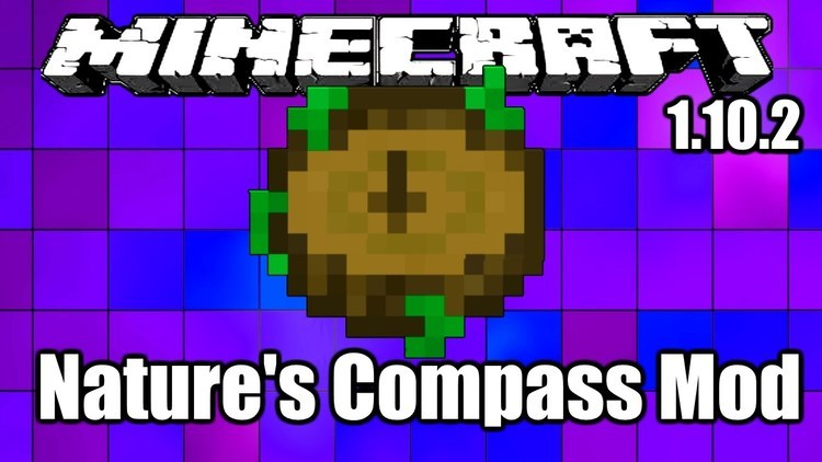 Nature's Compass Mod for Minecraft Logo