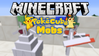 Pokecube mobs mod for minecraft logo