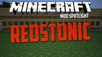 Redstonic mod for minecraft logo