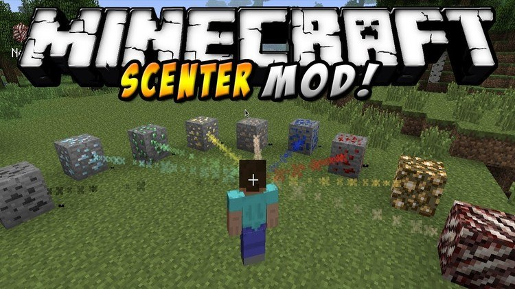 Scenter Mod for Minecraft Logo
