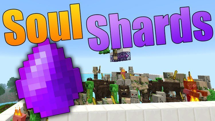 Soul Shards: The Old Ways Mod for Minecraft logo