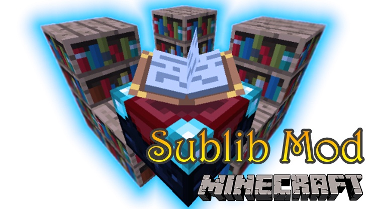 Sublib Mod for Minecraft Logo
