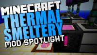 Thermal Smeltery Mod for Minecraft Logo