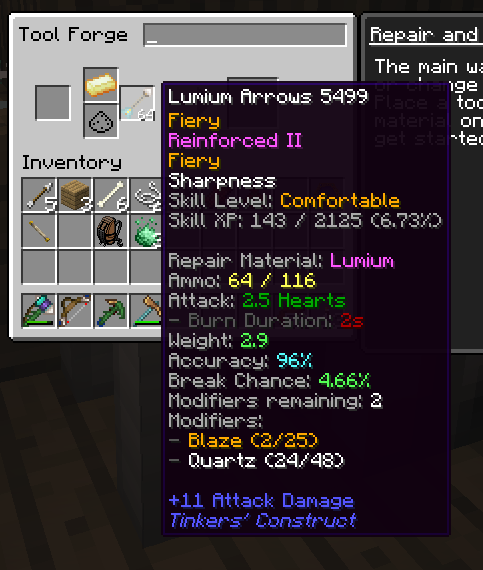 TiC Tooltips Mod for Minecraft 1