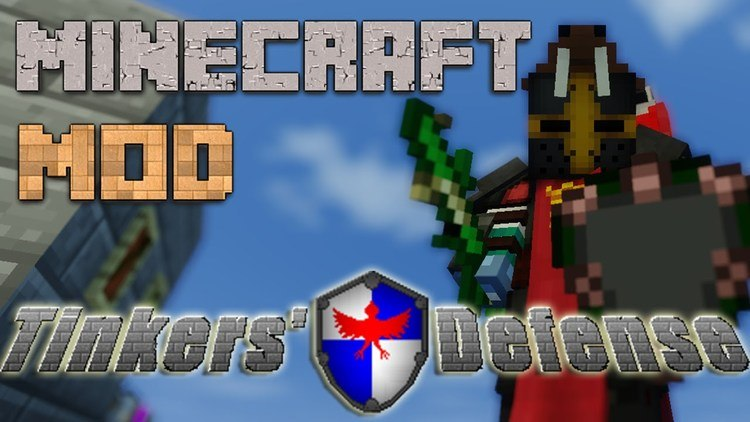 Tinkers' Defense Mod for Minecraft Logo