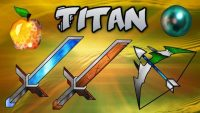 Titan Animated PvP Resource Pack for Minecraft Logo