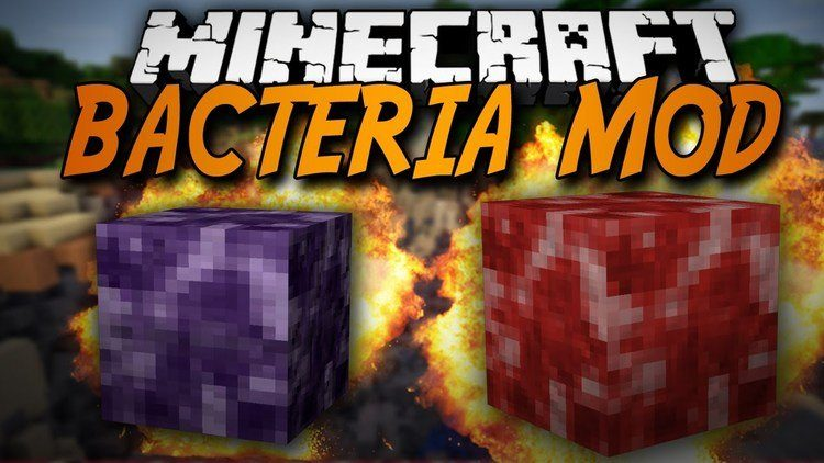 bacteria mod for minecraft logo
