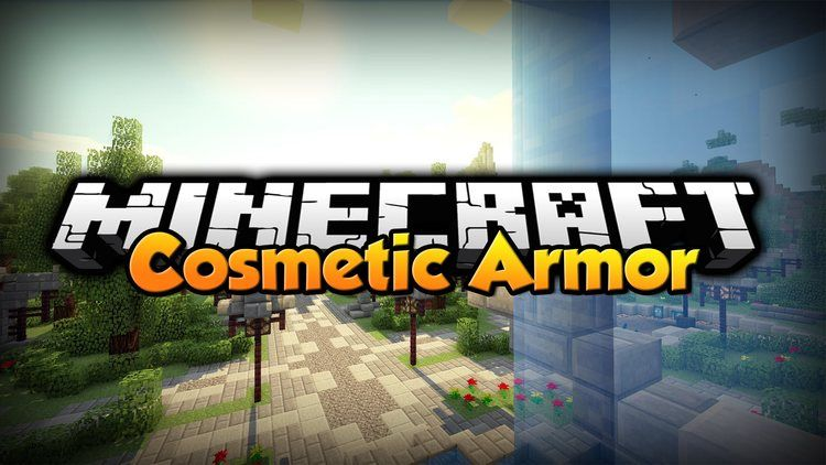 Cosmetic Armor Reworked Mod for Minecraft logo