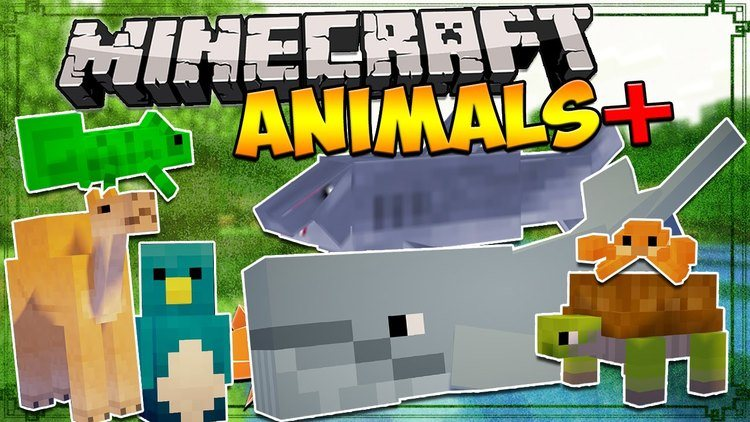 ANIMALS PLUS MOD FOR MINECRAFT Logo