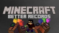 Better Records Mod for Minecraft Logo