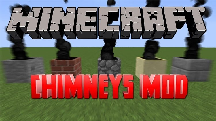 Chimneys Mod for Minecraft Logo