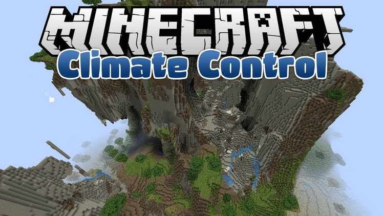 Climate Control mod for minecraft logo