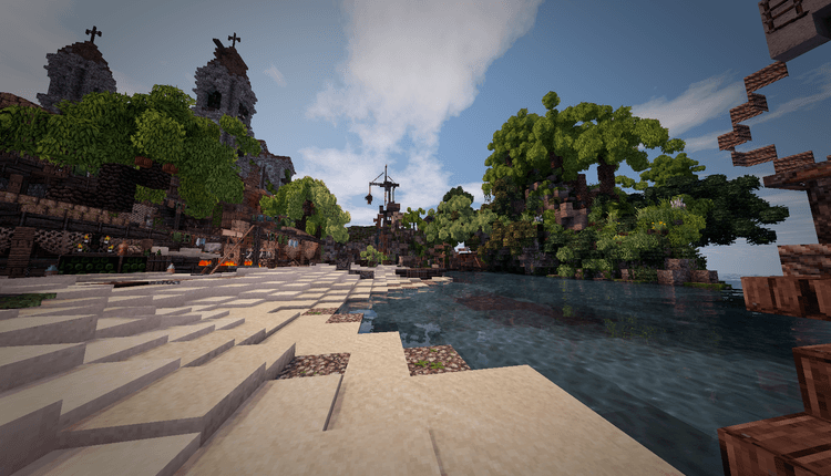 Conquest Reforged mod for minecraft 01