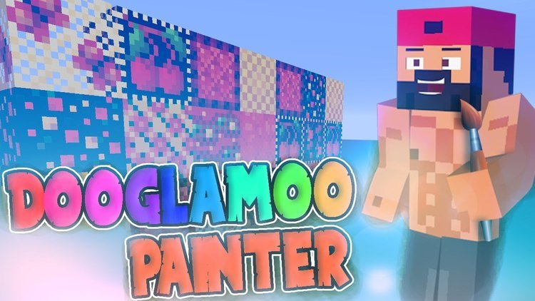 Dooglamoo Painter Mod for Minecraft Logo