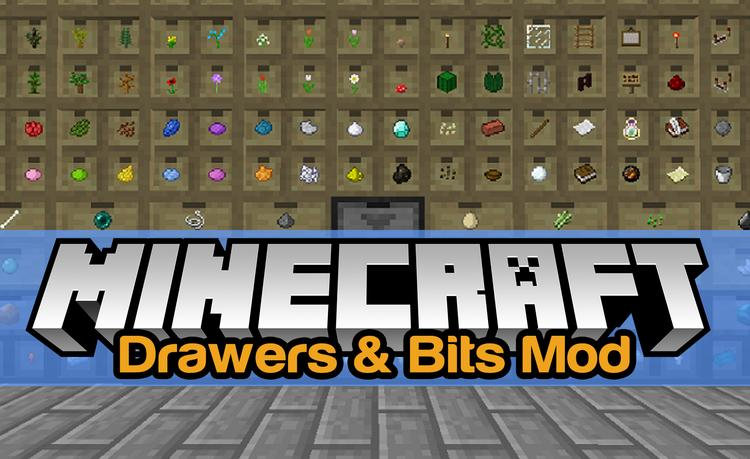Drawers & Bits Mod 1.11/1.10.2 for Minecraft Logo