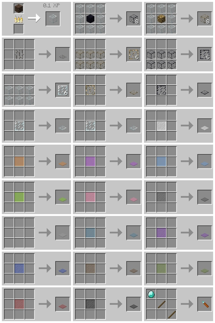 Glasscraft Mod for Minecraft 2