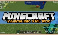 InGame Info XML Mod for Minecraft Logo