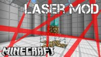 Laser Level Mod for Minecraft Logo