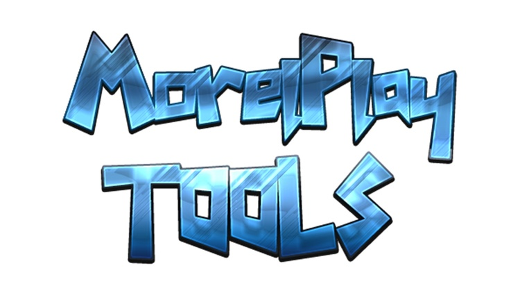 MorelPlay 3D Tools Mod for Minecraft Logo