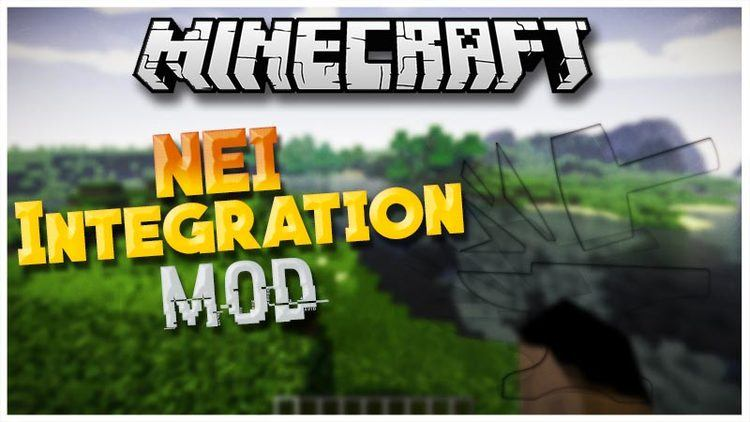NEI Integration Mod mod for minecraft logo