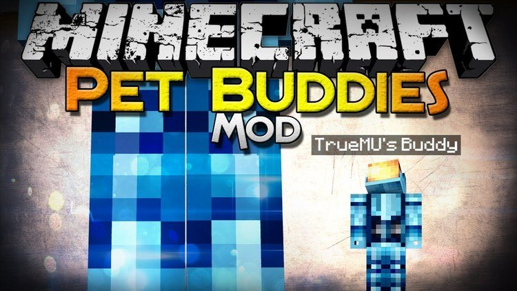 Pet Buddy Mod for Minecraft Logo