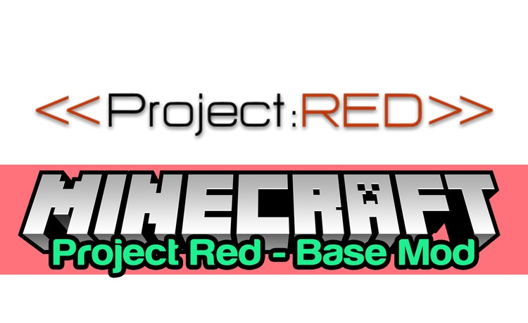 Project Red - Base Mod for Minecraft Logo